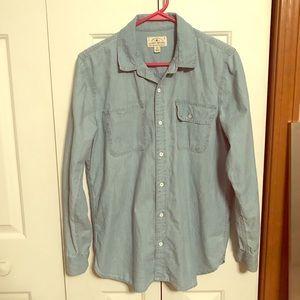 Lucky Brand Denim Button Down Shirt